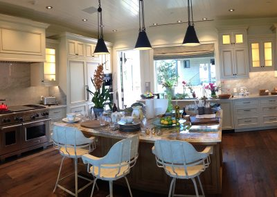 Carpinteria beach house kitchen