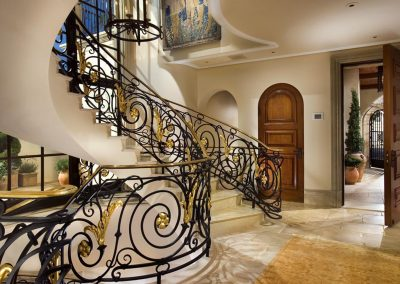 Manhattan beach entry foyer