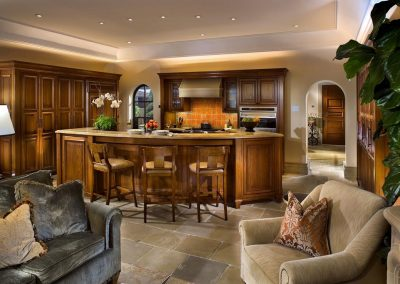 Manhattan beach residence kitchen