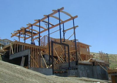 Vallejo residence-structural-frame